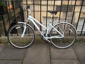 Brand new city bicycle with guarantee