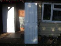 4 Panel Pair of Pre-painted Internal Doors/ National Hickman