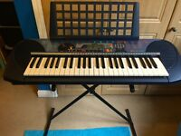 Yamaha PSR-140 keyboard with stand and music holder, excellent condition, fully working. £40