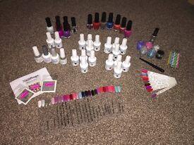 Nails Starter Kit - Gelish polishes and more....