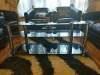 Glass TV stand - upto 50 inch TV
