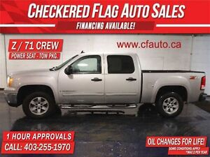 2008 GMC Sierra 1500 Z/71 CREW 4x4-P.SEAT and TOW PACKAGE