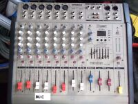 MERIDIDIAN 10 CHANNEL POWERED MIXER
