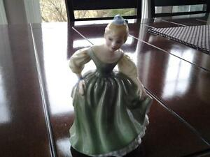 Royal Doulton miniature-Fair Maiden