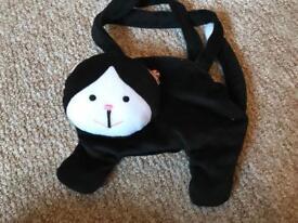 Childs' cat handbag