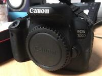 Canon 700D DSLR body (with 2 batteries and charger)
