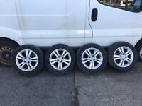 Vauxhall corsa d alloys