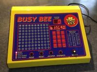 Busy Bee Bingo Raffle And Tote Machine