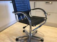FREE Leather Swivel Office Chair