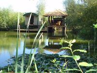 Shepherds hut 'Golden Orfe' Hot tub break 3 nights Thursday 17 August - Sunday 20 August £375.00