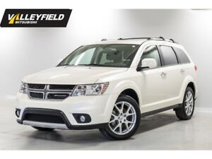 2017 Dodge Journey SXT 7 places,DVD,GPS, toit ouvrant!