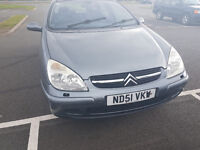 "CITREON C5 VTR HDI ""51"" PLATE **2.2CC ** MOT APRIL 2017**"