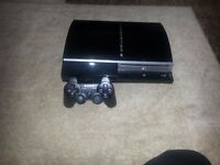 PS3 good condition + 3 games (near offers acceptable)