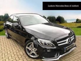 Mercedes-Benz C Class C220 D AMG LINE PREMIUM PLUS (black) 2016-05-28
