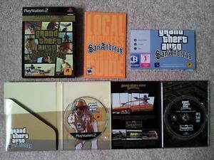Grand Theft Auto: San Andreas Special Edition / NM-MINT / PS2 London Ontario image 1