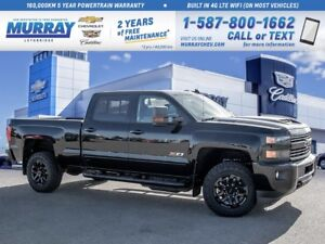 2019 Chevrolet Silverado 2500 **Sunroof!  Leather Wrapped Steeri