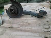 Bmw e46 saloon rear right side hub and arm