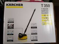 Karcher T350 T-Racer Wide Area Patio and Surface Cleaner - New,Sealed