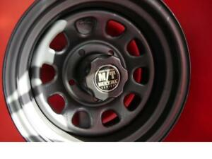 15 INCH NEW STEEL MICKEY THOMPSON METAL M/T RIMS - 5X139.7 INSTOCK NOW! SALE