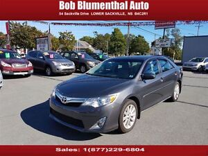 2012 Toyota Camry XLE w/ NAV ($75 weekly, 0 down, all-in, OAC)