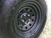 WRANGLER JEEP JK WHEEL AND TYRE PACKAGE