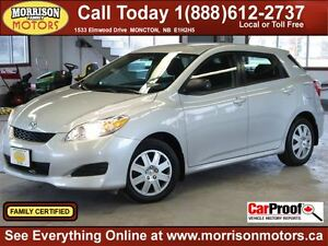 2014 Toyota Matrix Only 59km! $129 bi weekly oac