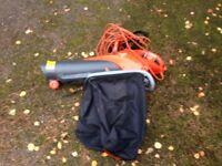 Leaf blower, electric