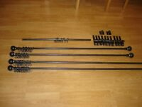 Hand-forged Wrought Iron Curtain Poles
