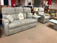 3 seater sofa and chair new