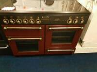 Leisure dual fuel range cooker for sale