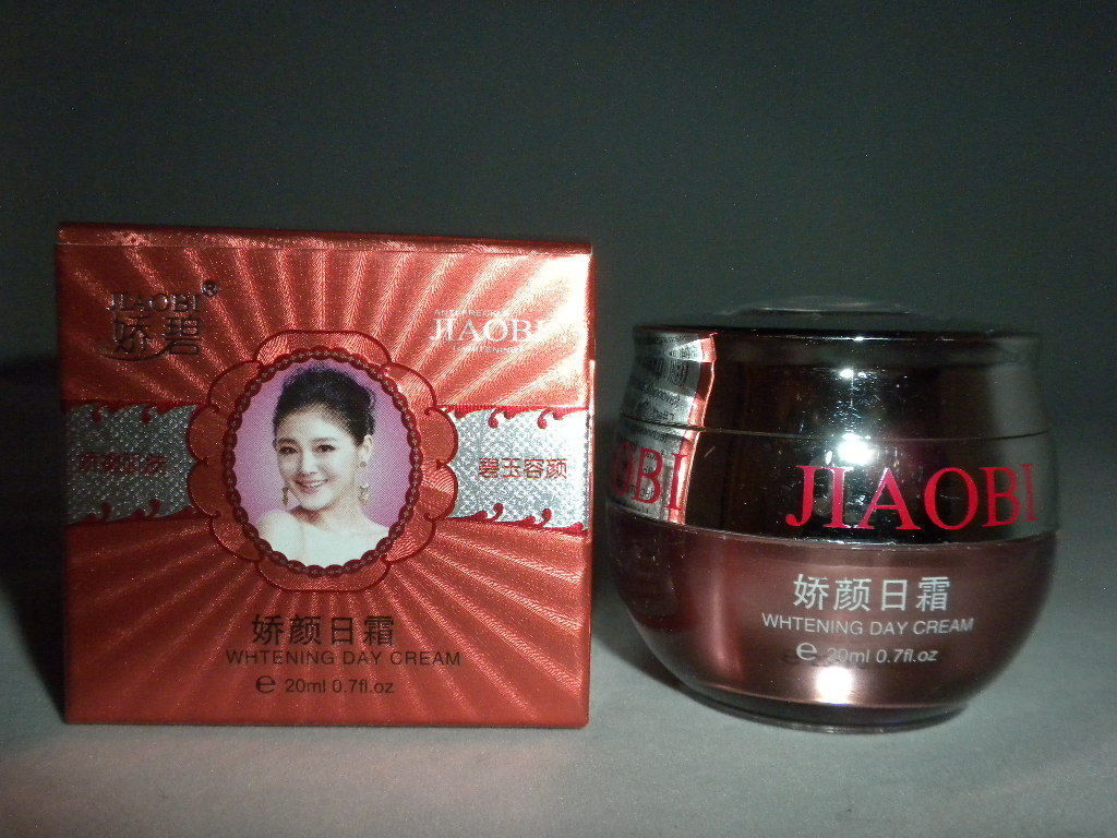NIB JIAOBI BEAUTY WHITENING SKIN CARE, DAY CREAM