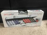 Brand New Texas Hold'em poker set (500 chips)