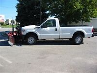 2013 Ford F-250 Reg Cab 4x4 New 8'6 Plow