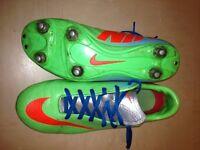 NIKE Mercurial football boots size 5.5UK
