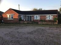 Bungalow and yard to rent in Leicestershire