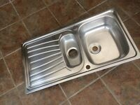 1.5 Bowl Stainless Steel Kitchen Sink