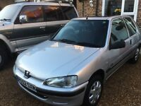 Peugeot 106 diesel (52reg) only 81k miles and only (1 owner) 11 months MOT sunroof cd radio x X X X