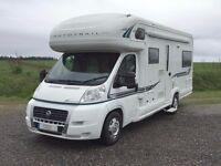 luxury 6 berth Auto-trail Apache motorhome with 4 belted seats