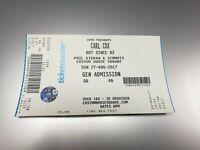 One - Carl Cox Belfast Sun 27th August 2017 for sale £65 in Magherafelt