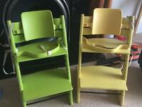 Stokke Tripp Trapp High chairs