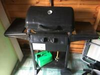Calor has cylinder, set of bbq equipment and large bbq grill