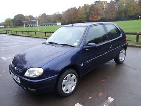 2001 Citroen Saxo 1.1 Desire (MOT until Sept 2017)