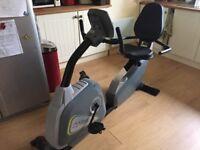 Kettler recumbent exercise bike