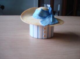 China Hat trinket by Jane Asher