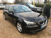 2007 BMW 5 SERIES 525D 3.0 SE SALOON 4DR BLACK NICE SPEC