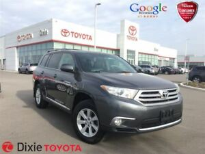 2013 Toyota Highlander V6+LEATHER+BACK UP CAM+7 PASS