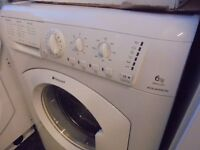HOTPOINT 6 KG WASHING MACHINE,,,,,,,, VERY NICE N CLEAN ,,, FREE DELIVERY