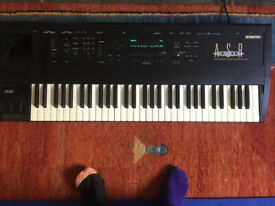 Ensoniq ASR 10 - Good condition, recently serviced, upgraded memory, comes with power cable