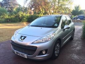 Peugeot 207 1.4 Active, 5 door, low mileage, new tyres, 12 month MOT