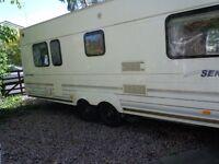 Bailey Senator Colorado Millenium Limited Edition Double Axle Toufring Caravan